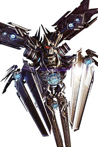 Allegiance: Decepticon Alt Mode: Satellite, Mercedes-Benz Role: Communications Appearances: ROTF, DOTM Soundwave is the Decepticon communications officer. He usually stays behind the battle lines to direct the attacks on the battlefield. First appearing in Revenge of the Fallen, he is essential to the plans of the Decepticons. From space, he takes over a satellite and […]