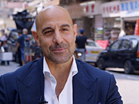 Stanley Tucci Interview – Transformers: Age of Extinction